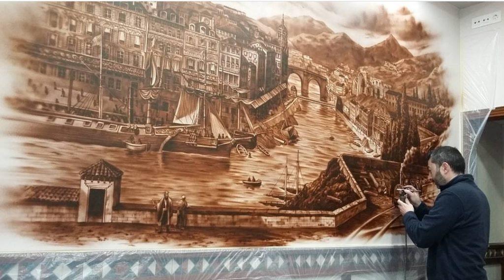 Murales Juanjo Barón Estudio de Aerografía